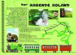 Postkarte Rasender Roland