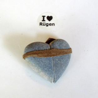 ,,Zauber´´haftes Steinherz aus einem speziellen Rügener Kiesel