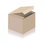 Lange Ohrhänger mit sonnengelber, facettierter Perle