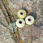Bead aus hellem Bernstein (butterscotch) für Pandora