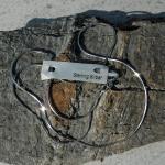 Feine, silberne 8 kantige Schlangenkette, passend zu allen Anhängern !!!