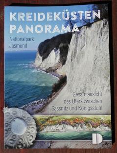 Faltblatt Kreideküsten Panorama nationalpark Jasmund