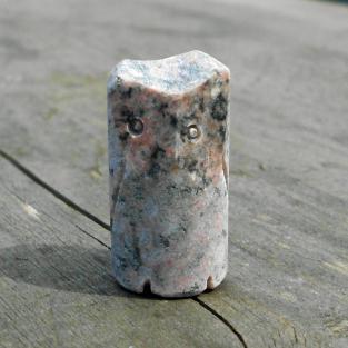 Eule / Uhu aus einem Stein