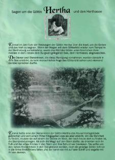 Postkarte Herthasage