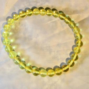 Wunderschönes Perlenarmband  aus sonnengelben Bernsteinen