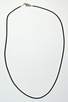 Kautschukcollier 1mm 45 cm lang