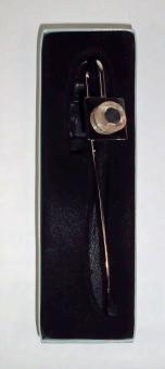 Lesezeichen mit einer Donnerkeilscheibe ( Belemnit )