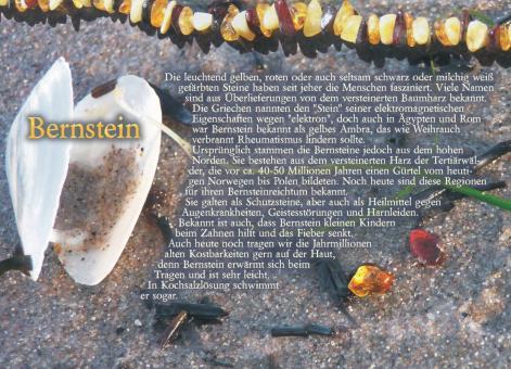 Postkarte Bernstein
